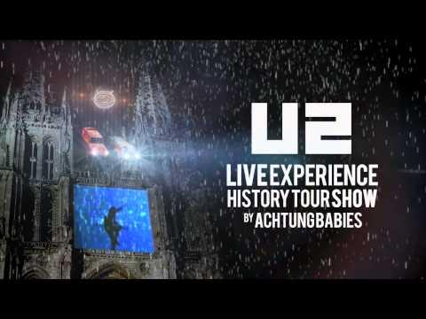 Promo U2 History Tour Show - Burgos (6 diciembre 2014)