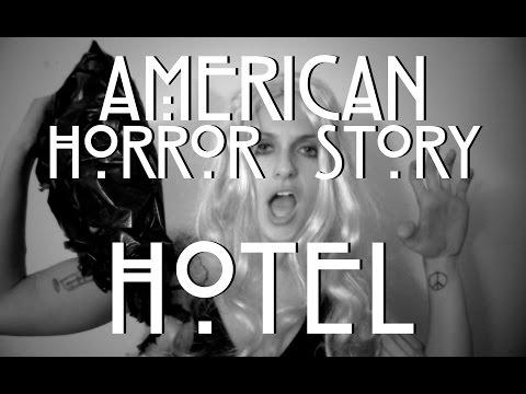 America Horror Story Hotel: Behind The Scenes Gaga
