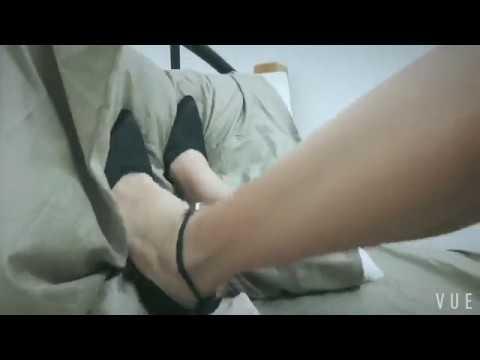 Trampling my boyfriend's pillow