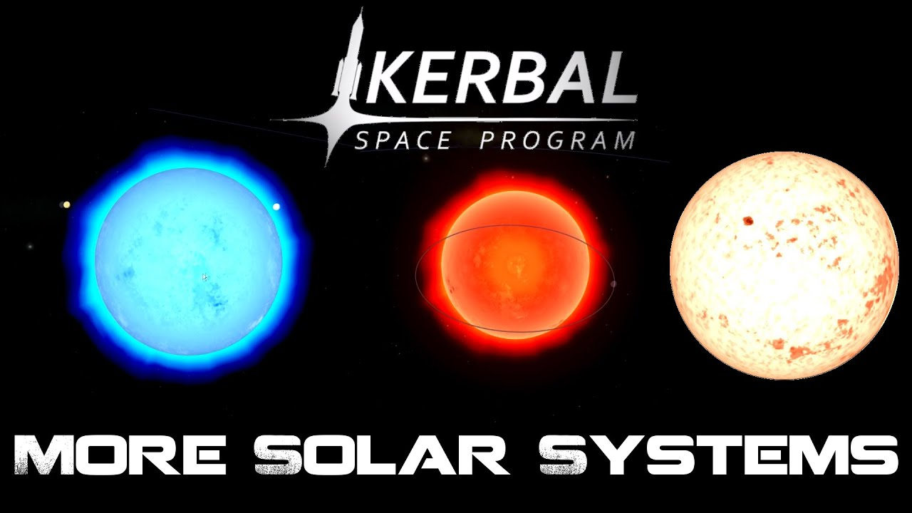 More Solar Systems Mod, Kerbal Space Program 0.90 - YouTube