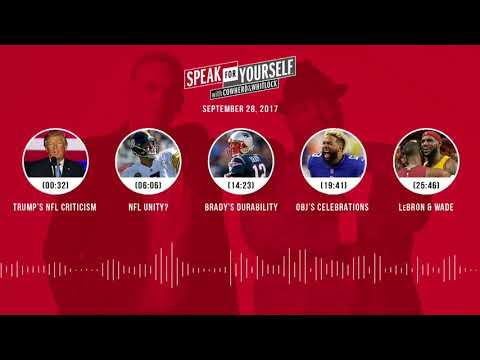 SPEAK FOR YOURSELF Audio Podcast (9.28.17) with Colin Cowherd, Jason Whitlock | SPEAK FOR YOURSELF