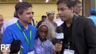 Dr Khalid Minhas - Jalsa Salana USA - Rabwah Times