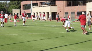 Outside linebackers prepare for Ole Miss game