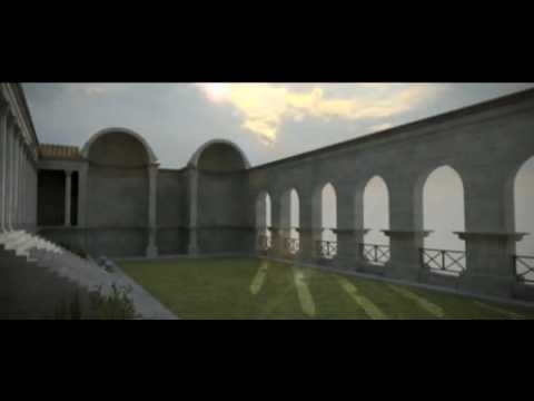 Termas do sul - Conimbriga 3D / Virtual Roman Baths (Portugal)