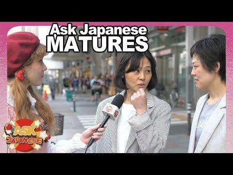 GIRLS vs WOMEN. Ask Japanese adults about YOUNG GIRLS in present Japan