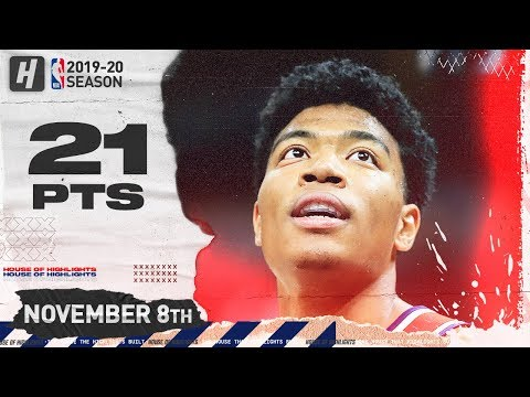 [Highlights] Rui Hachimura Full Highlights vs Cavaliers (2019.11.08) - 21 Pts, 3 Ast, 7 Reb 2 stls 10/13 FG