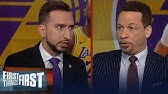 Chris Broussard & Nick talk LeBron, Lakers place in history, Zion future | NBA | FIRST THINGS FIRST