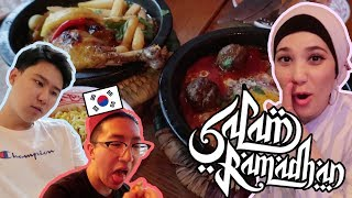 Koreans Try Ramadan and Moroccan Food!