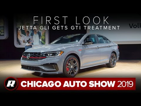 2019 VW Jetta GLI gets power boost and chassis upgrades | Chicago 2019