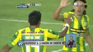 Visión 7 - Aldosivi 3 - 3 Unión de Santa Fe