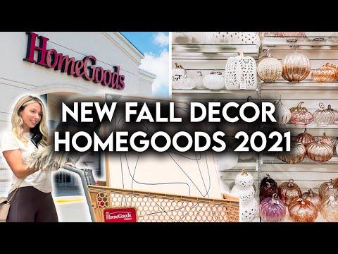HOMEGOODS SHOP WITH ME FALL 2021   NEW HOME DECOR