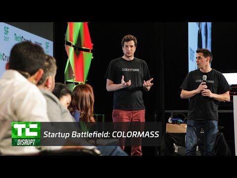 Startup Battlefield Finals: Colormass | Disrupt SF 2017