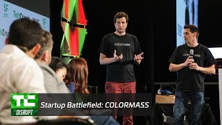 Startup Battlefield Finals: Colormass   Disrupt SF 2017