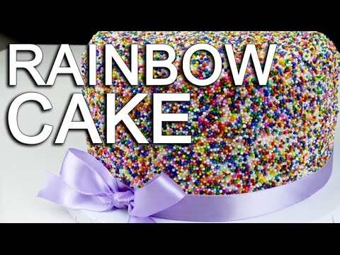 Cake Decorating Icing Artist : Funfetti Rainbow Sprinkle Cake - How To With The Icing ...