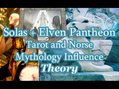 Dragon Age  - Solas + Elven Pantheon Theory - Tarot and Norse Mythology Part 1