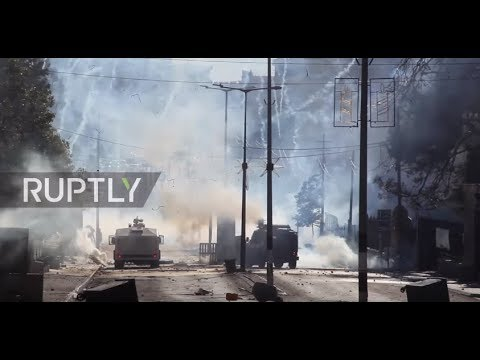 State of Palestine: Israeli forces fire tear gas at protesters in Bethlehem