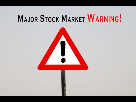 MAJOR STOCK MARKET WARNING - MASSIVE VOLATILITY IS COMING - BE PREPARED
