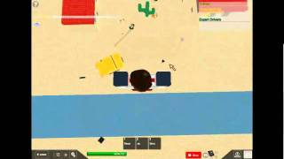 ROBLOX - How to cheat to winners on Drive Off A Cliff With Smashable Cars