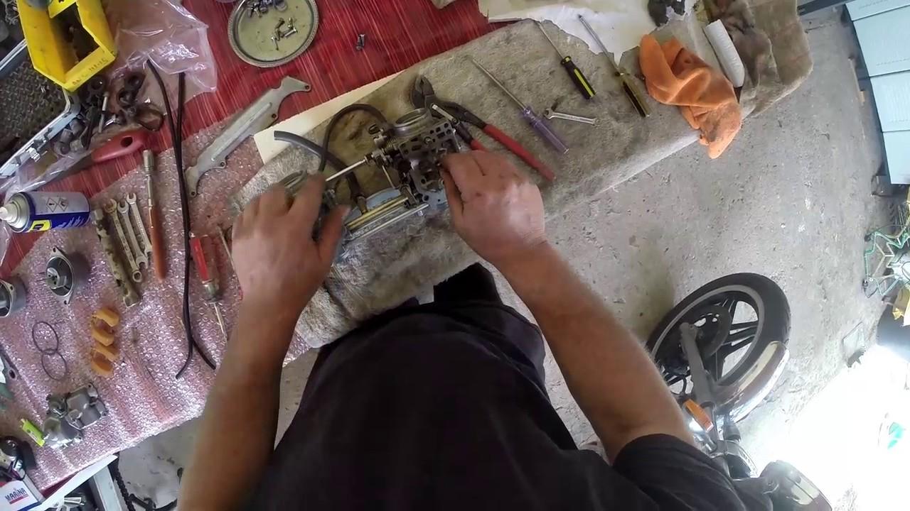 How to fine tune clean rebuild, adjusts your Carburetors CX 500 Honda PART 2