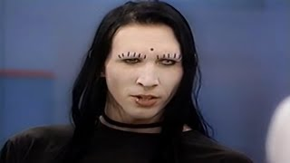 Marilyn Manson Interview - Phil Donahue Show - 1995 HD REMASTERED (By me)