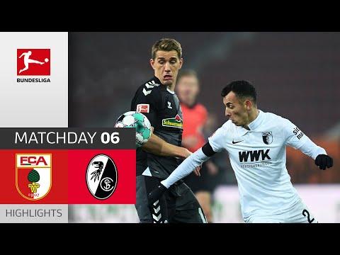 FC Augsburg - SC Freiburg | 1-1 | Highlights | Matchday 9 – Bundesliga 2020/21