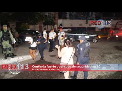 VIDEO Continúa fuerte operativo de seguridad en LC