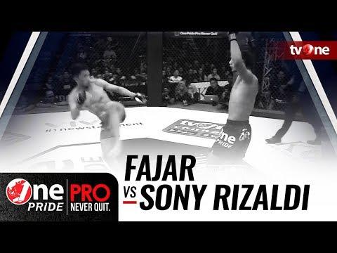 [HD] Fajar vs Sony Rizaldi - One Pride Pro Never Quit #18 - Title Fight Mp3