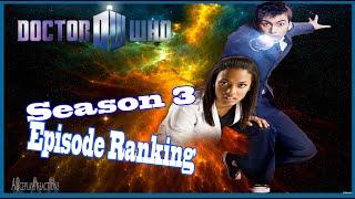 Doctor Who Season 3 Episode Ranking (NuWho)