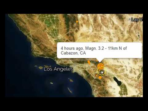 California Hit by Multiple Mid-Level Earthquakes On San Andreas Fault Line