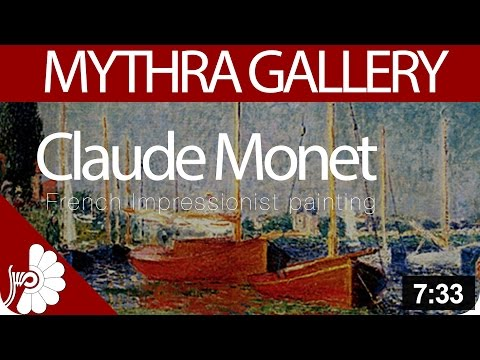 Claude Monet- Founder of French Impressionist painting- Artist