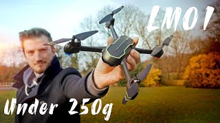 GPS Drone Unbox & Review Asbww LM01 Under 250g Drone