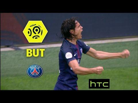 But Edinson CAVANI (3') / Paris Saint-Germain - Girondins de Bordeaux (2-0) -  / 2016-17