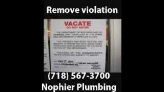 Howto Remove Illegal Basement Apartment Violation (718 567-3700 Brooklyn Plumber