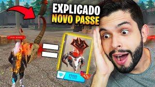 MISTÉRIO EXPLICADO!?! JÁ TENHO O PASSE DA PRÓXIMA TEMPORADA DO FREE FIRE!!!