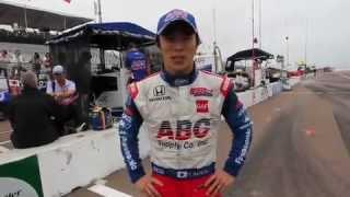 2013年IZODインディカー・シリーズ開幕戦を振り返るAJフォイト・レーシ...