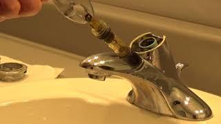 Moen Bathroom Faucet Repair Moen 1225 Youtube