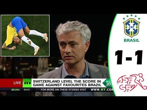 BRAZIL VS SWITZERLAND 1-1 [POST MATCH ANALYSIS] WITH JOSÉ MOURINHO!