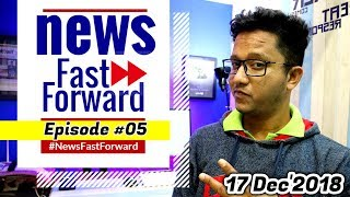 Tech News Fast Forward #05 | 17-12-2018 | Latest Technology News in Hindi | Data Dock