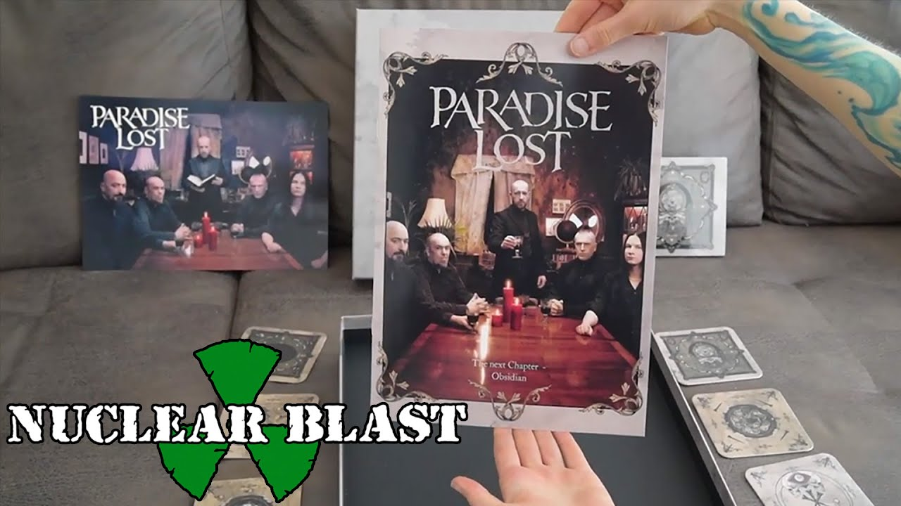 PARADISE LOST — Unboxing the Mail Order Box Set (OFFICIAL TRAILER)