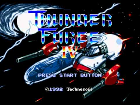 Track 01 - THUNDER FORCE IV『Lightning Strikes Again - Metal Squad』
