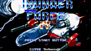 Track 01 - THUNDER FORCE IV『Lightning Strikes Again - Metal Squad』