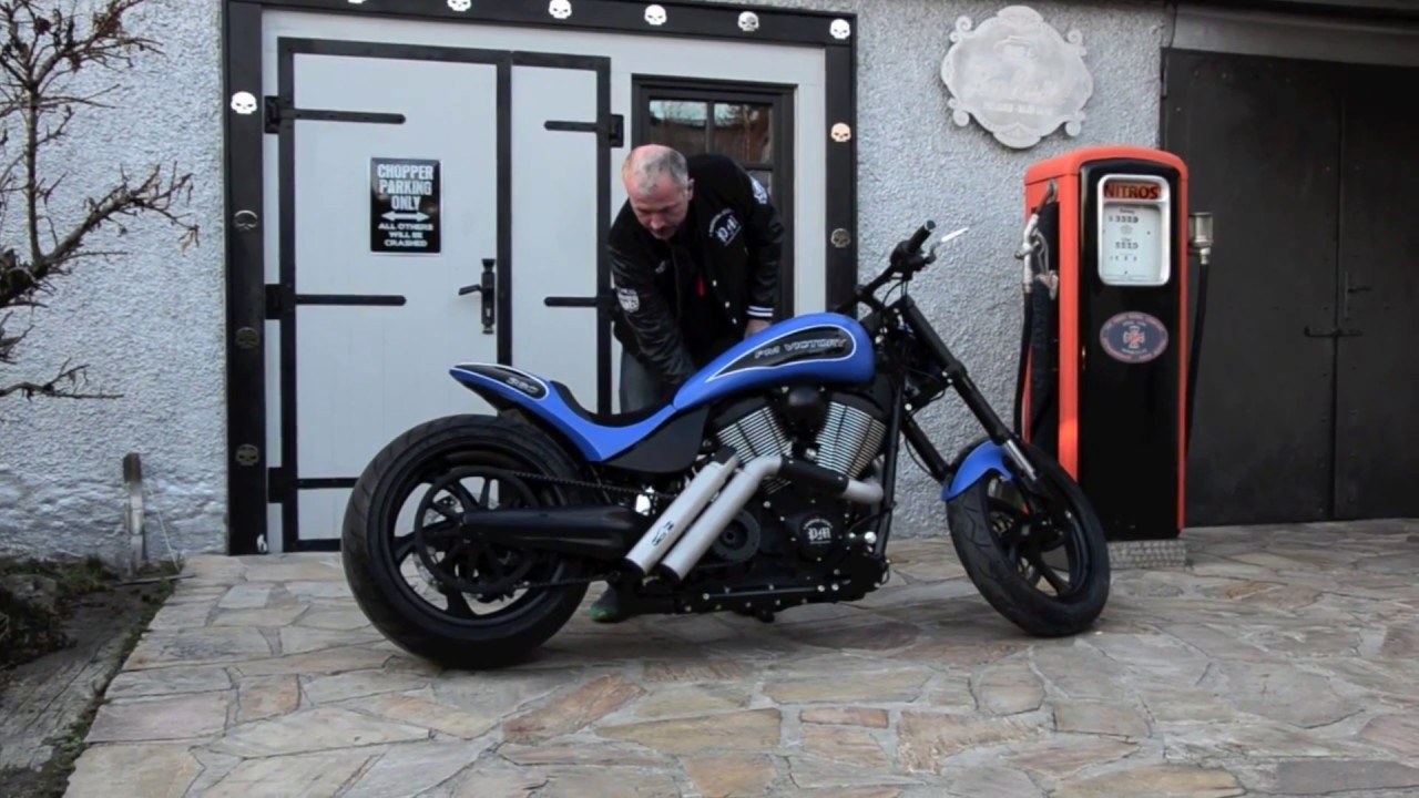 ⭐️⭐️ Victory Hammer 8 Ball Custom Exhaust Sound by PM American Cycles - review