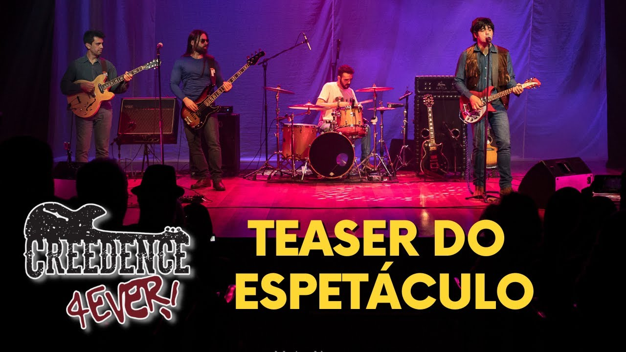 CREEDENCE 4EVER - ULTIMATE TRIBUTE (TEASER 2020)