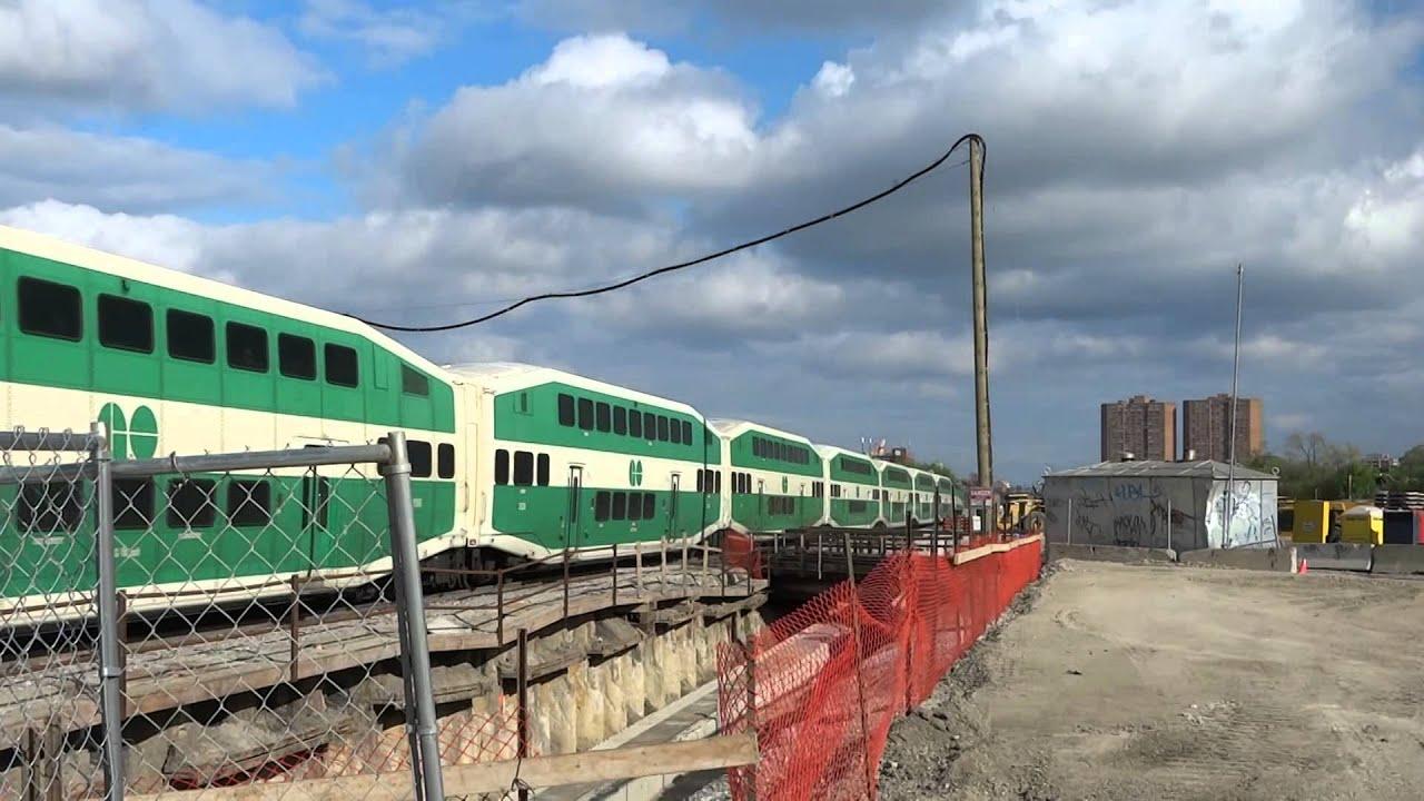 2nd Last GO Georgetown-Kitchener Line Train Crossing West Toronto ...