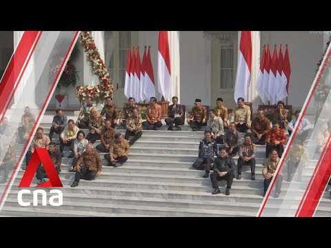 Indonesian President Joko Widodo taps political rivals in new cabinet
