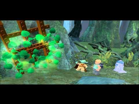 LEGO Star Wars II Walkthrough Episode V Chapter 4 Dagobah [1/3]