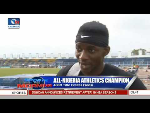 Sports This Morning: All Nigeria Athletics Championship, 2016 Federation Cup In Focus