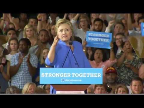 Hillary Clinton Cincinnati FULL Speech 6/27/16 - Rally With Elizabeth Warren