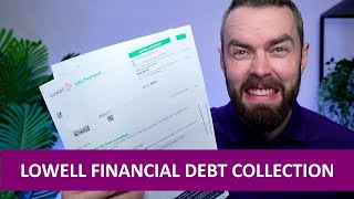 Lowell Group debt letter? Here's what to do!