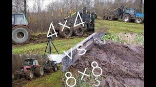 4x4 vs 8x8 (HD)